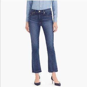 J. Crew Jeans   Billie Demi Boot Crop